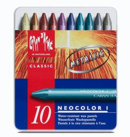 Neocolor I Metallic 10 stuks