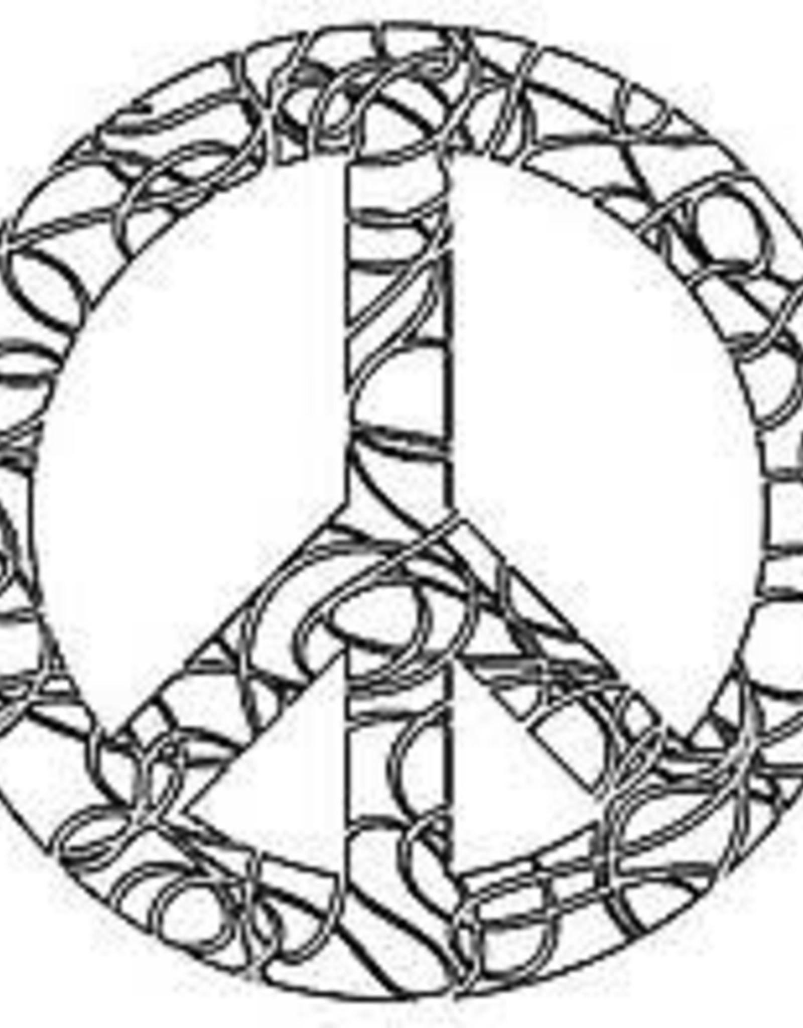 Stencil Festive Peace