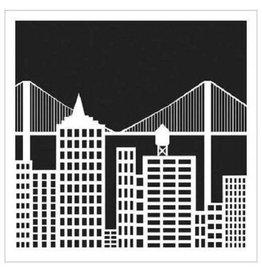 Stencil Cityscape