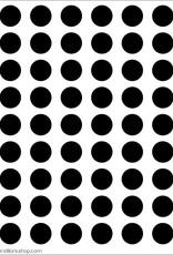 Stencil Circle Grid