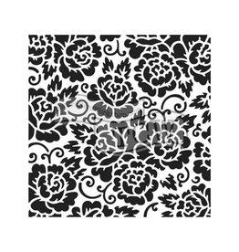 Stencil Rose Garden