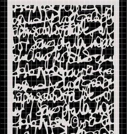 Stencil Ecriture a la Plume