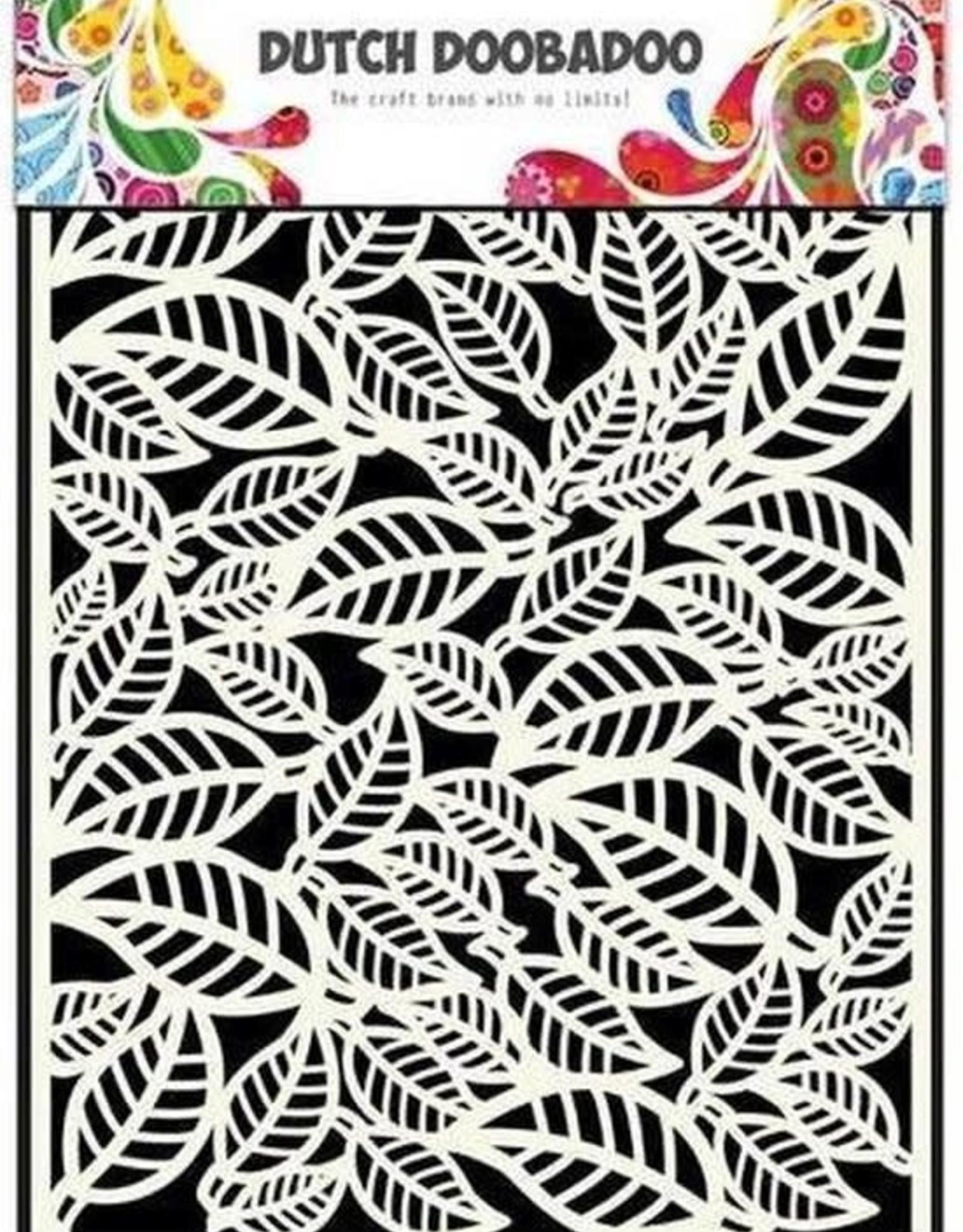 Stencil Leaves DD