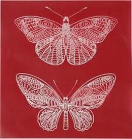 Stencil / Screen Butterflies
