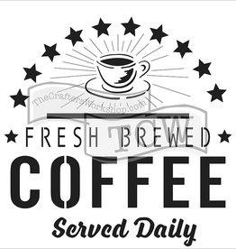Stencil Fresh Coffee large