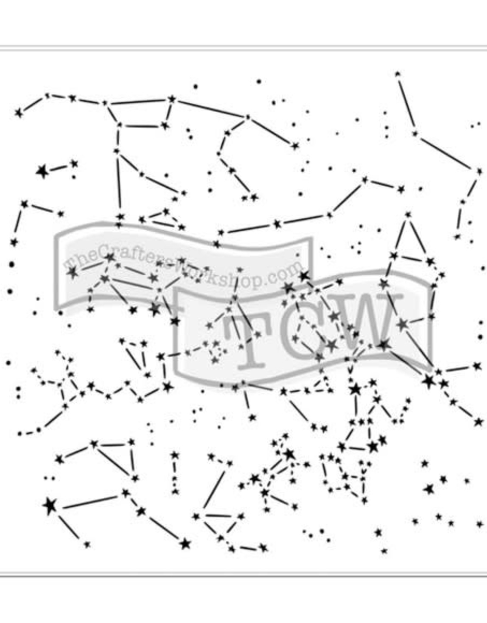 Stencil Constellations large