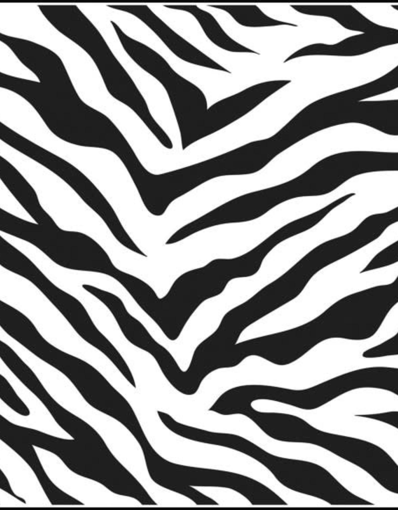 Stencil Zebra Print large