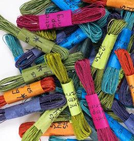 Hennep String Teal Blauw