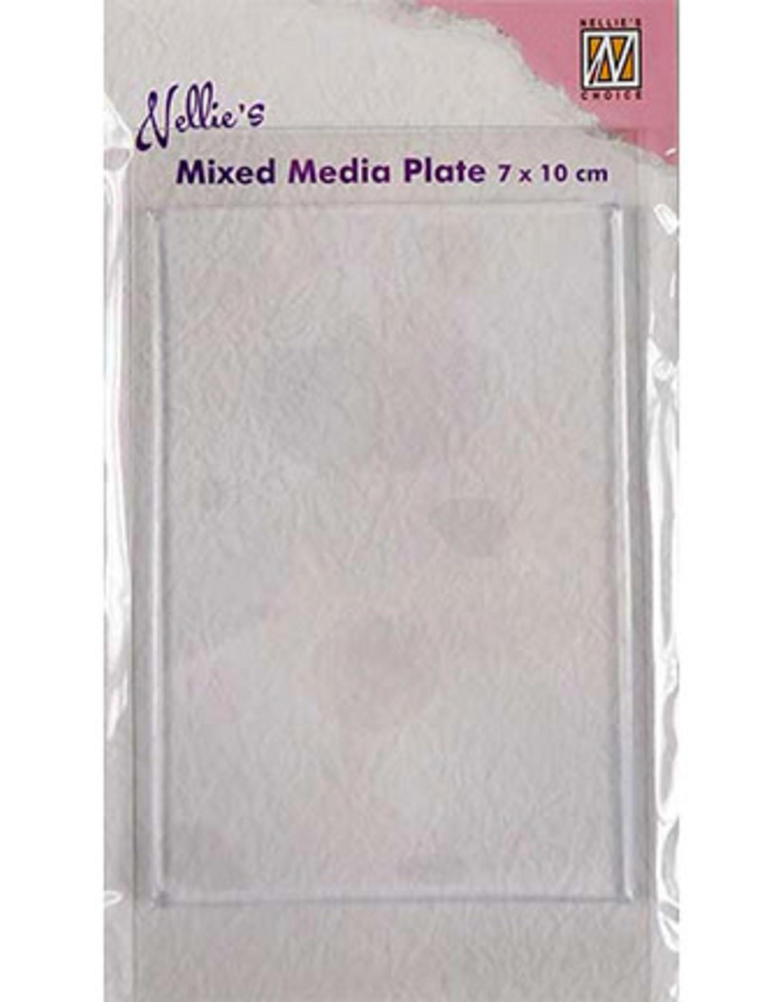 Mixed Media Plate Rechthoek