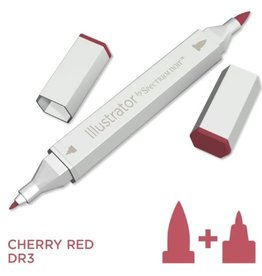 Alcohol Marker Cherry Red DR3
