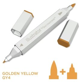 Alcohol Marker Golden Yellow GY4