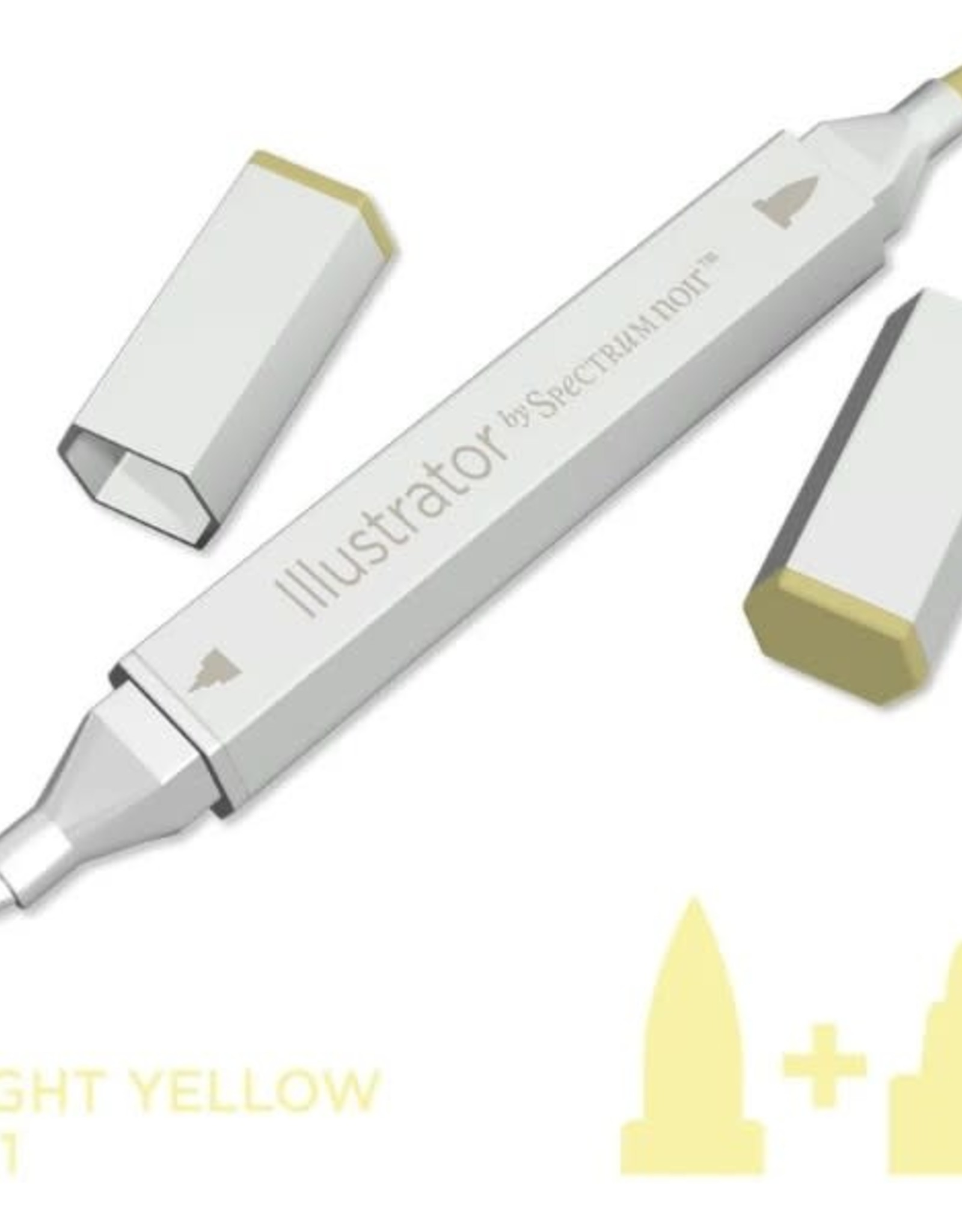 Alcohol Marker Light Yellow LY1