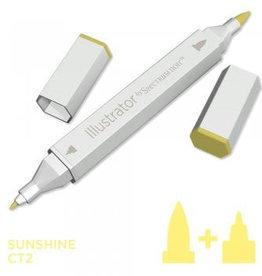 Alcohol Marker Sunshine CT2