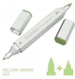 Alcohol Marker Yellow Green LG2