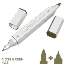 Alcohol Marker Moss Green YG3