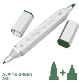Alcohol Marker Alpine Green AG4