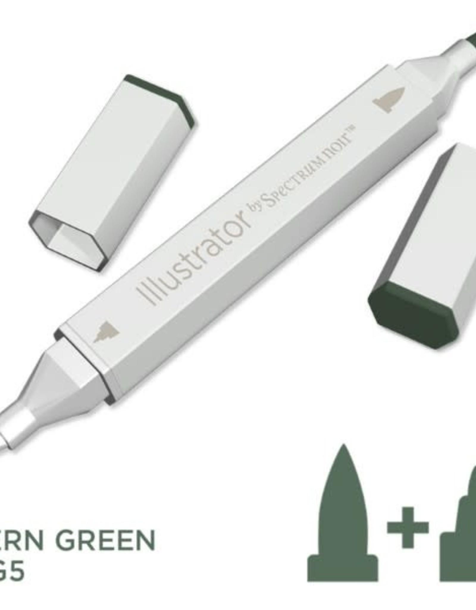 Alcohol Marker Fern Green AG5