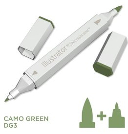 Alcohol Marker Camo Green DG3