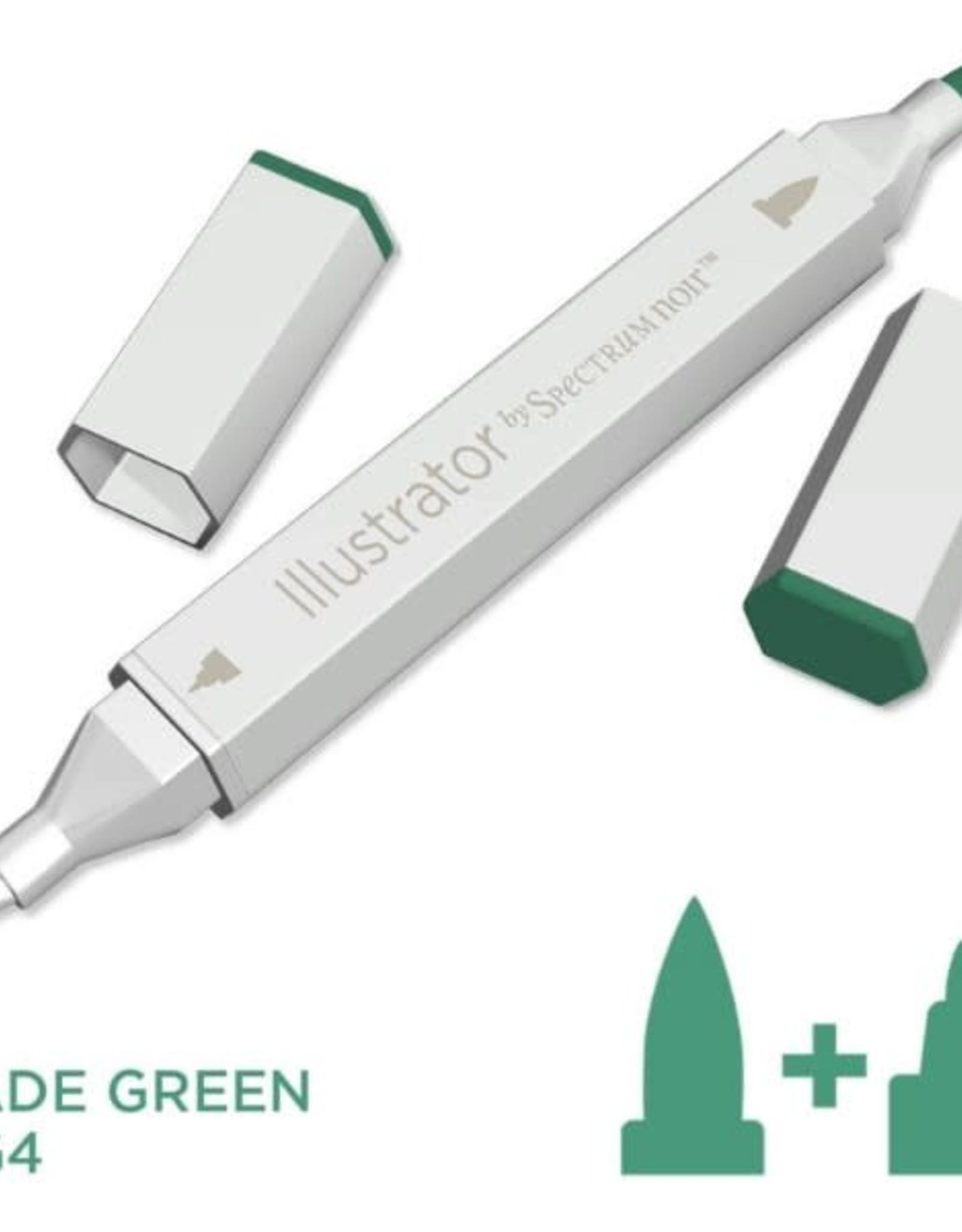 Alcohol Marker Jade Green JG4