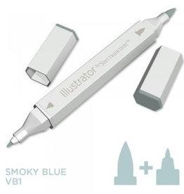 Alcohol Marker Smoky Blue VB1