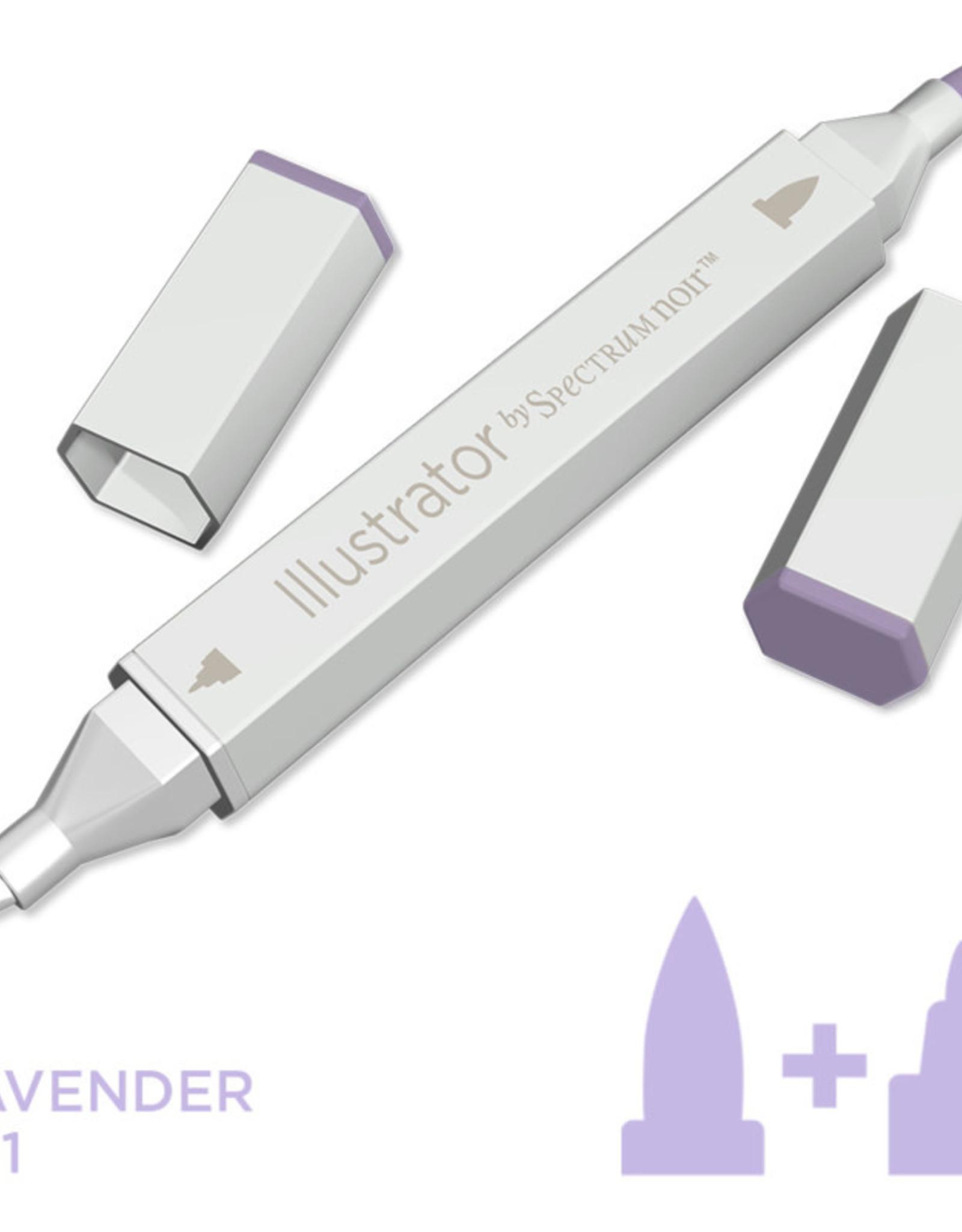 Alcohol Marker Lavender LV1