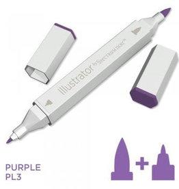 Alcohol Marker Purple PL3