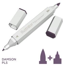 Alcohol Marker Damson PL5