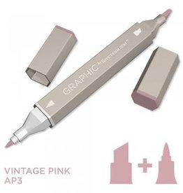 Alcohol Marker Vintage Pink AP3