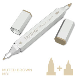 Alcohol Marker Muted Brown MB1