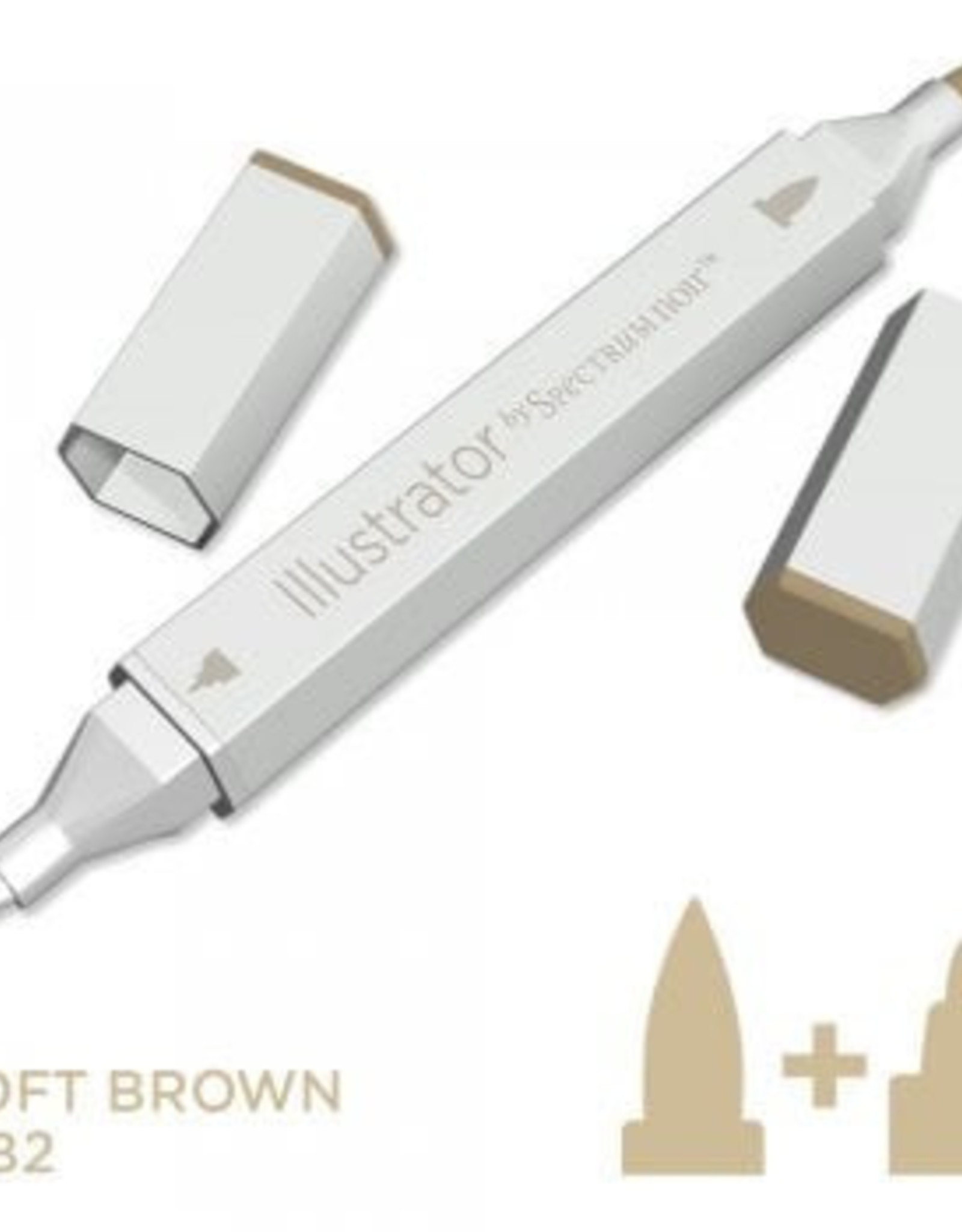 Alcohol Marker Soft Brown MB2