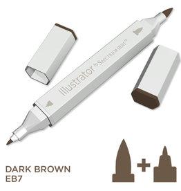 Alcohol Marker Dark Brown EB7