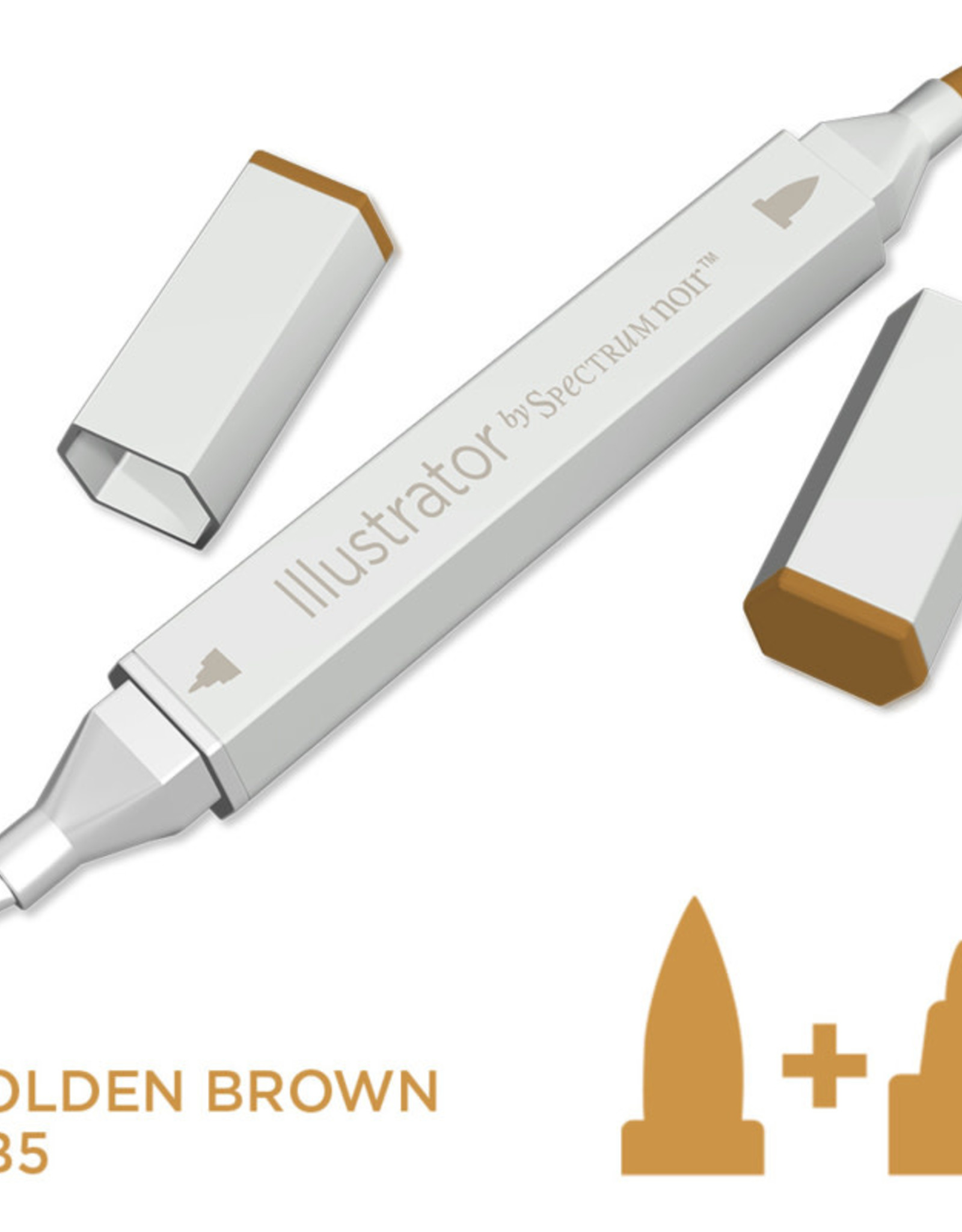 Alcohol Marker Golden Brown GB5