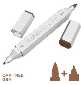 Alcohol Marker Oak Tree GB9