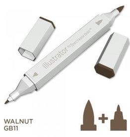 Alcohol Marker Walnut GB11