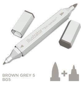 Alcohol Marker Brown Grey BG5
