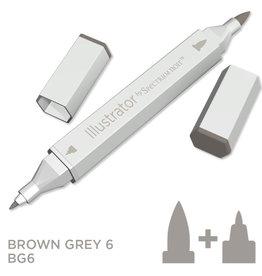 Alcohol Marker Brown Grey BG6