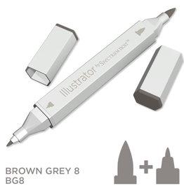 Alcohol Marker Brown Grey  BG8