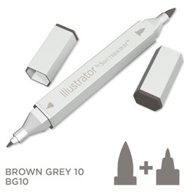 Alcohol Marker Brown Grey  BG10