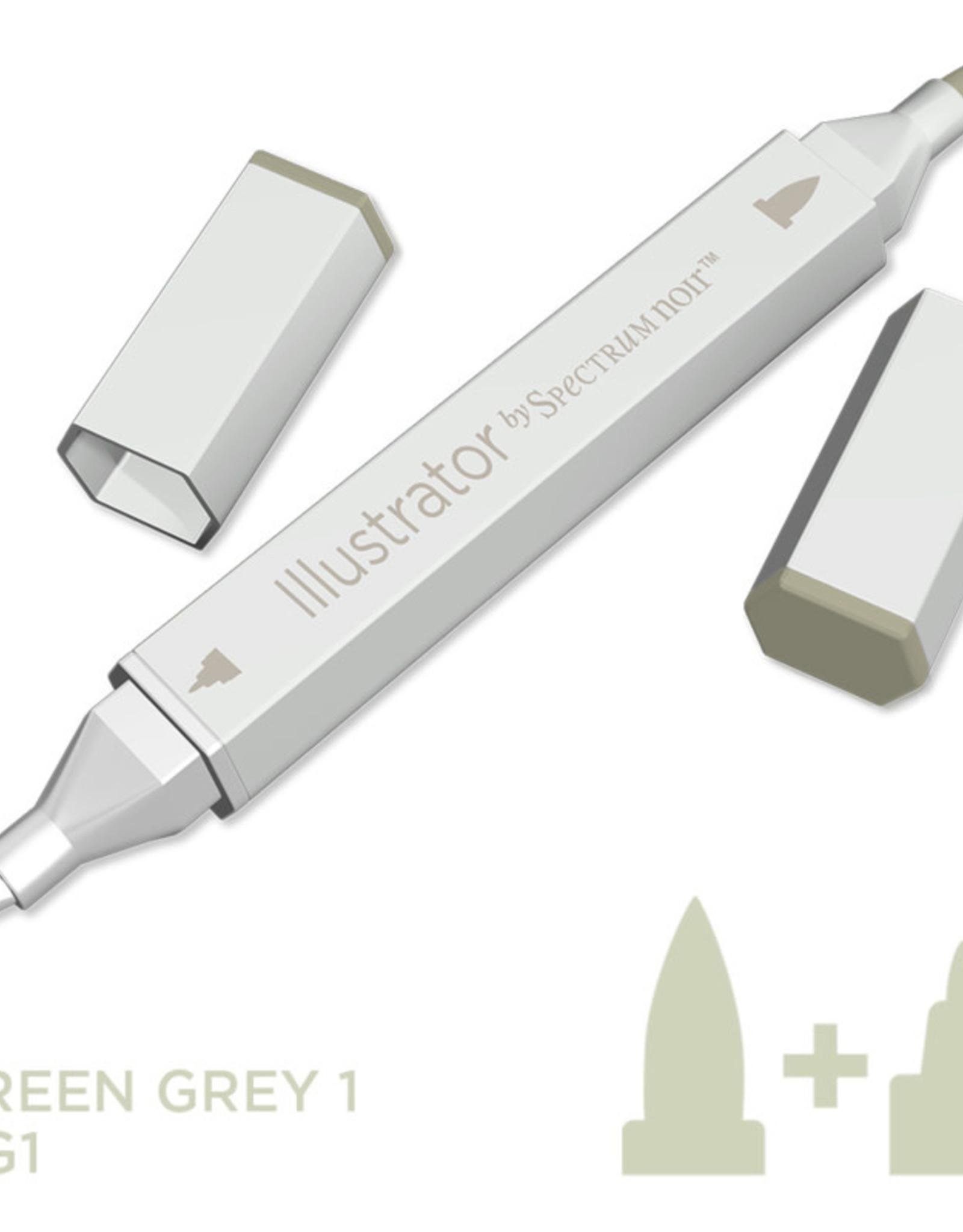 Alcohol Marker Green Grey GG1