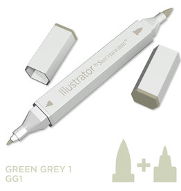 Alcohol Marker Green Grey GG1