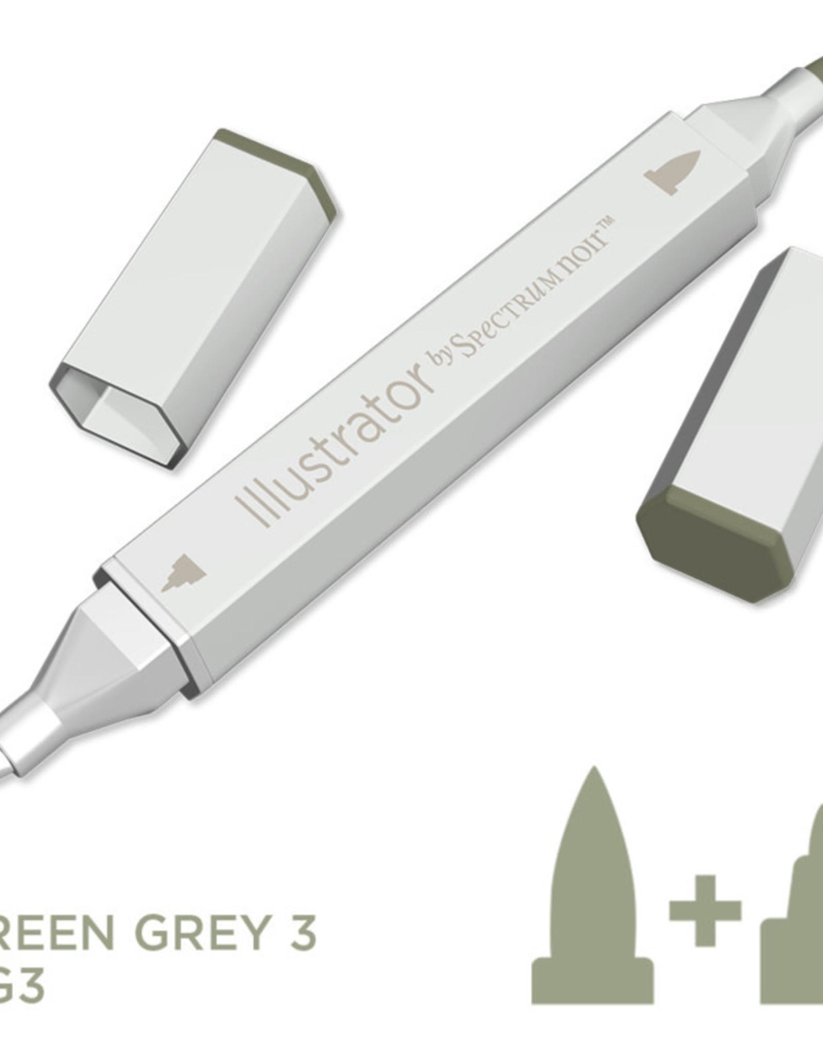 Alcohol Marker Green Grey GG3
