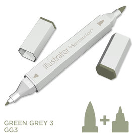 Alcohol Marker Green Grey GG3