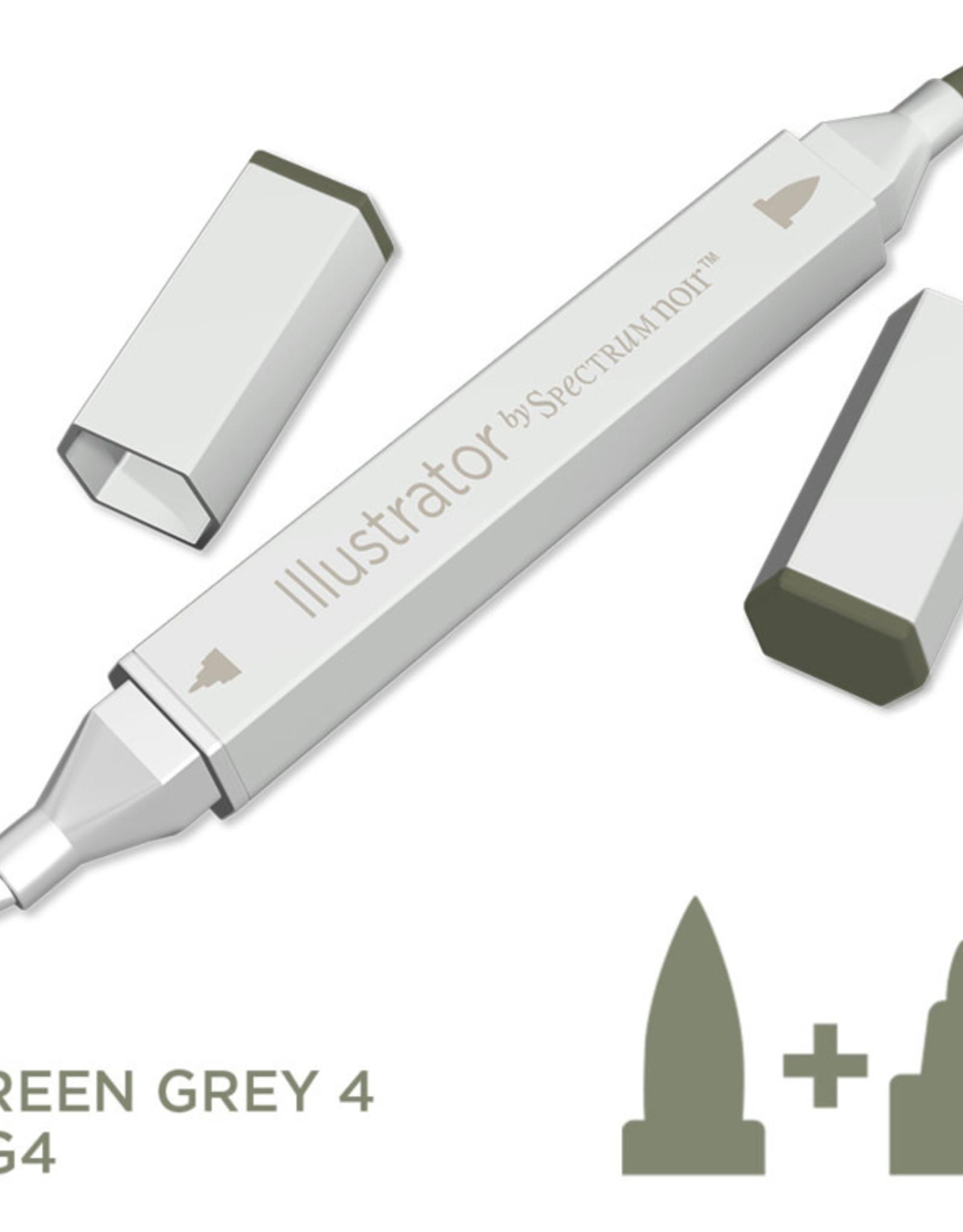 Alcohol Marker Green Grey GG4