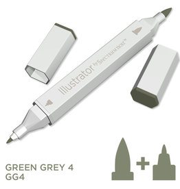 Alcohol Marker Green Grey GG4
