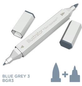 Alcohol Marker Blue Grey BGR3
