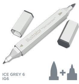 Alcohol Marker Ice Grey IG6