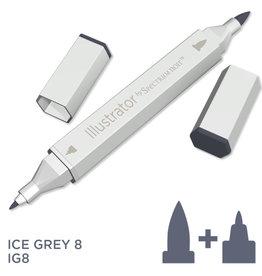 Alcohol Marker Ice Grey IG8