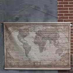 Landkaart the World