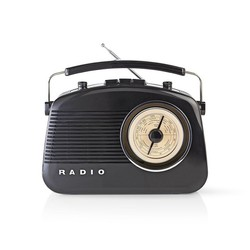 Retrodesign AM/FM-radio