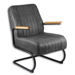 Heerlijke stoere fauteuil in diverse kleuren